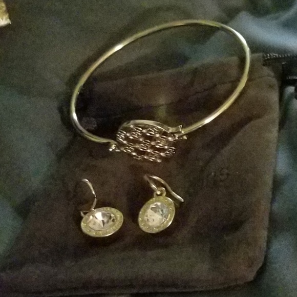 best sale best selling outlet store sale Authentic Michael Kors bracelet and earrings set